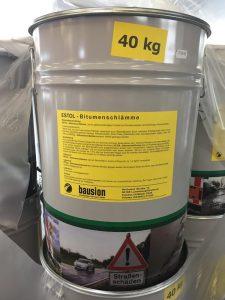 Estol Bitumenschlaemme   bausion ® Strassenbau-Produkte GmbH