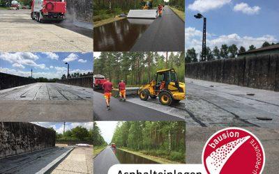 Asphalteinlagen – neue Bauweise